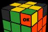 rubik cube solve swap edge