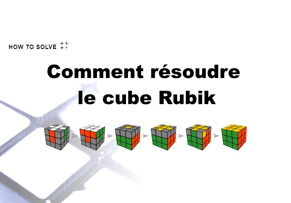 comment r soudre le cube rubik. Black Bedroom Furniture Sets. Home Design Ideas